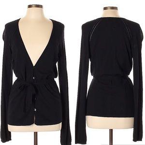 Semantiks black belted lightweight cardigan L